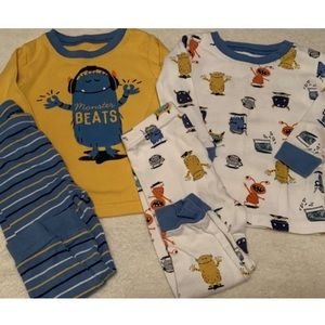12month Monster Beats Pajamas